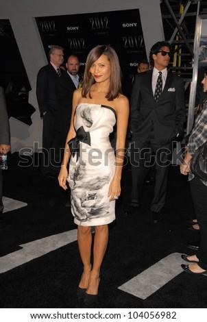 "Thandie Newton  at the premiere of '2012,"" Regent Cinemas L.A. Live, Los Angeles, CA.  11-3-09"