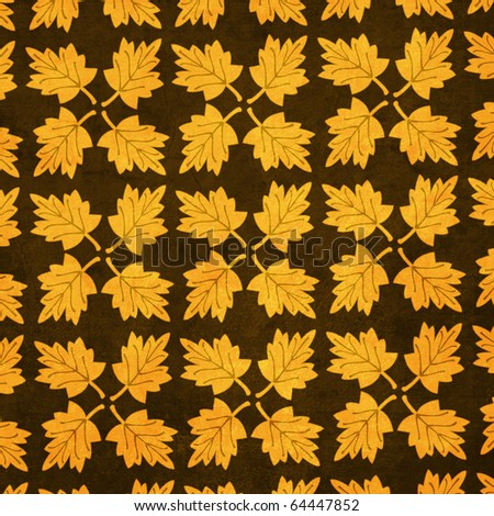 Thanksgiving Collection Gold Leaves Texture Background