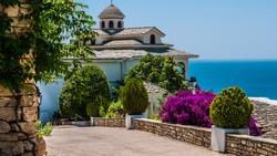 Thassos island. Greece.