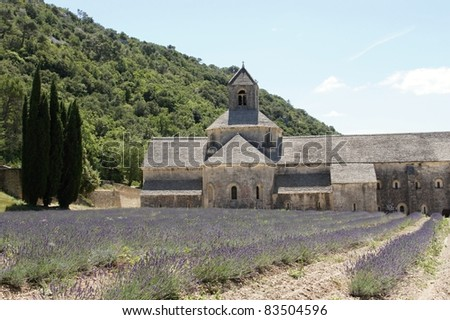 The Abbey of Sénanque, Provence, France