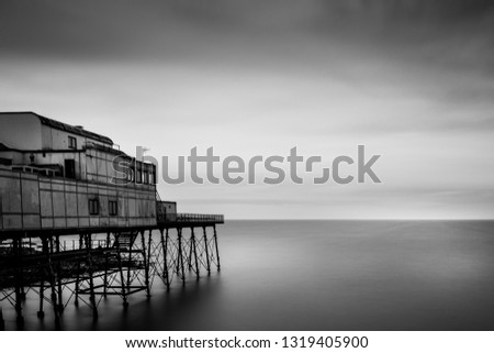 The Aberystwyth Royal Pier, Wales, United Kingdom #1319405900