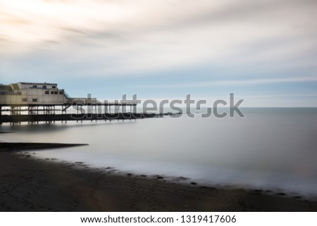 The Aberystwyth Royal Pier, Wales, United Kingdom #1319417606