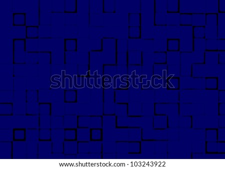 The abstract image of a technological relief