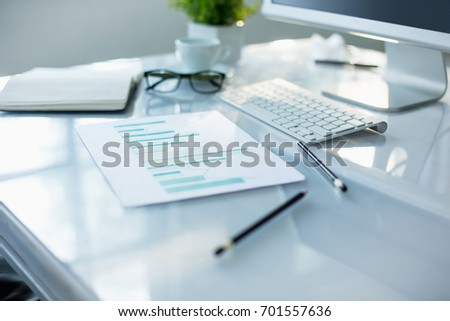 The abstract Office Desktop #701557636