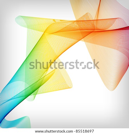 the abstract smoke colorful background