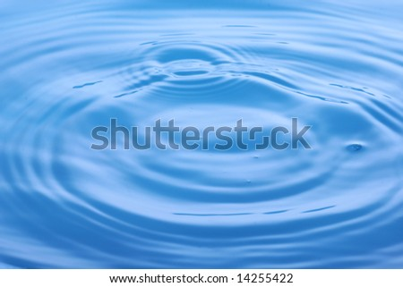 The abstract water splash background