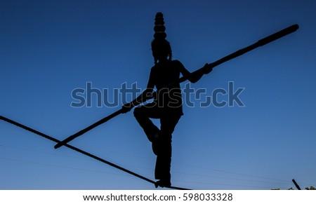 The Act of Balancing #598033328