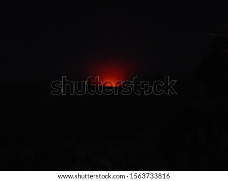 The active Erta Ale volcano glows in the dark #1563733816