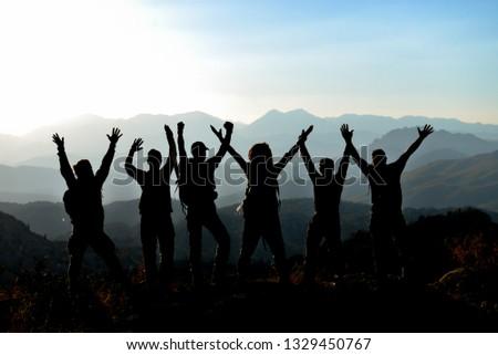 The adventures of fun, unusual mountaineers #1329450767