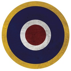 The air forces of the United Kingdom.Royal Air Force roundel