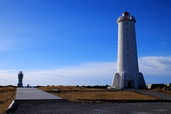 The Akranes lighthouse, Iceland