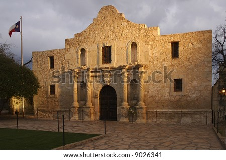 The Alamo is one the most visited historic site in America.