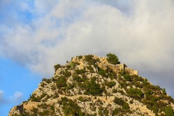 The Alara Castle, historic fortification located at Alanya district of Antalya Turkey
