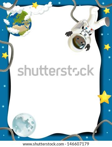 рамки с космосом фото