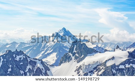 The Alps from the Titlis Peak