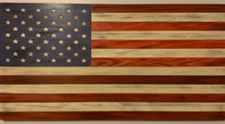The American flag in all its glory.