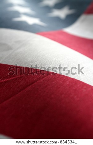 The American Flag Stars and Stripes