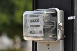 The amount of electricity meter installed on poles.