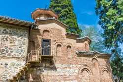 The ancient Boyana Church of the 900 a.D., is a UNESCO world heritage site located near Sofia, capital of Bulgaria