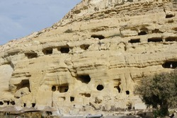 The ancient caves of