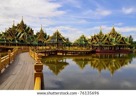 The ancient city in Bangkok, Thailand