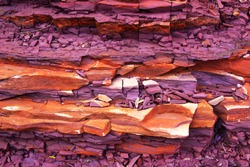 The ancient rock formation -1
