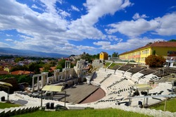 The ancient theatre of Philippopolis is a historical building in the city center of Plovdiv (ancient Philippopolis), Bulgaria.