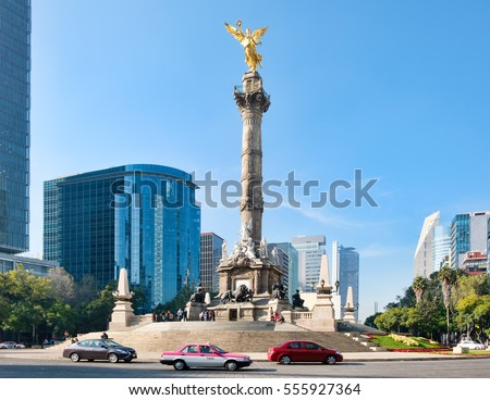 Shutterstock The Angel of Independence at Paseo de la Reforma, a worlwide known symbol of Mexico City