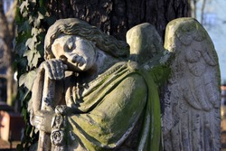 The Angel on the old Prague Cemetery
