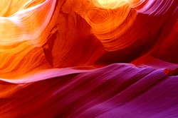 The Antelope Canyon, Page, Arizona, USA.  The second edition with the expanded range