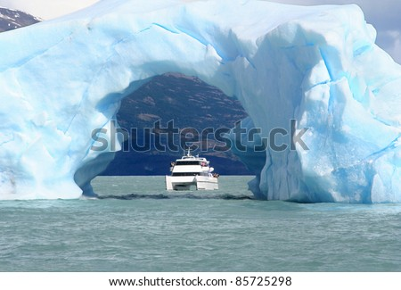 the arc made of ice