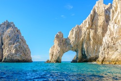 The arch point (El Arco) at Cabo San Lucas, Mexico.