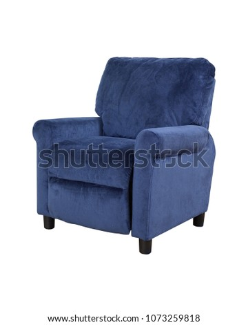The armchair sofa in white background. #1073259818