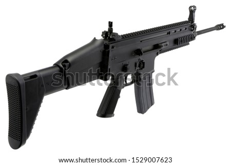 the armies of the armies are semi-automatic rifles and pistols. photos of army weapons are rare
