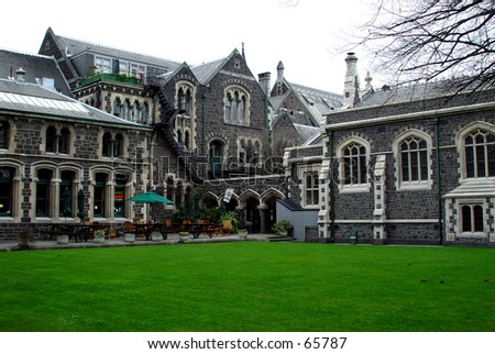 The Arts Centre, Christchurch, New Zealand