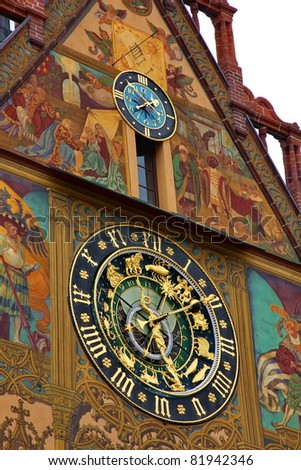 The Astronomical Clock at City Hall in Ulm
