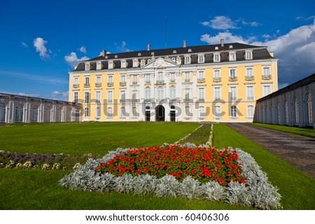 The Augustusburg Palace in Brühl near Cologne, Germany. UNESCO World Heritage Site.