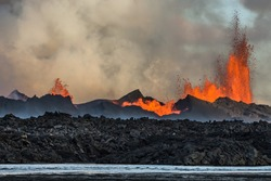 The 2014 Bárðarbunga eruption at the Holuhraun fissures, Central Highlands, Iceland