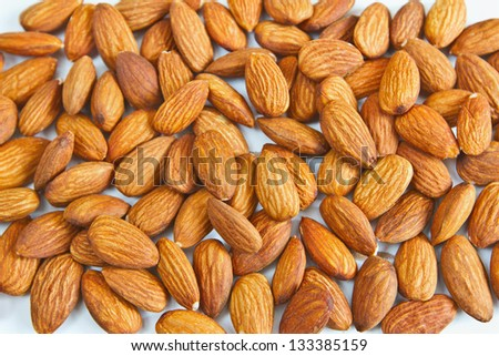 The background of the almond #133385159