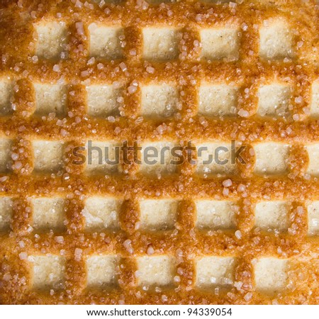 the background texture of cookies or crackers