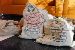 The bag of the Dutch Santaclaus, called