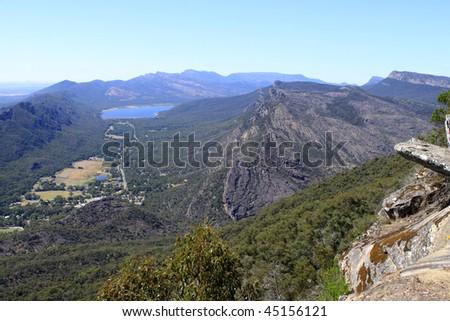 The balconies (Grampians National Park, located in Victoria, Australia)