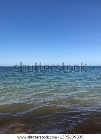 the Baltic sea on the coastline fromthe coastline of rügen #1395899339