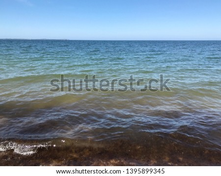 the Baltic sea on the coastline fromthe coastline of rügen #1395899345