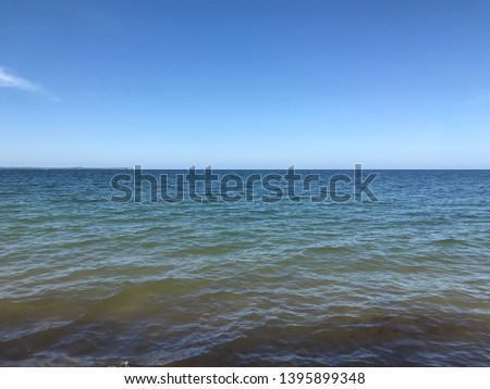 the Baltic sea on the coastline fromthe coastline of rügen #1395899348