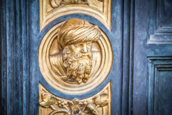 The Baptistry of San Giovanni, one of the most ancient churches in Florence. East Door, which Michelangelo called the Gates of Paradise, is the fully Renaissance masterpiece of Ghiberti.