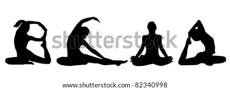 The basic Yoga sitting position