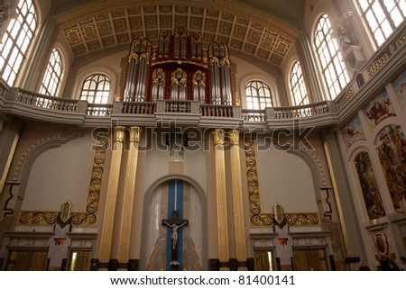 The Basilica of Our Lady of Liche? is a Roman Catholic church located in the village of Liche? Stary near Konin in the Greater Poland Voivodeship in Poland.