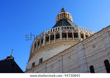 The Basilica of the Annunciation, Nazareth, Israel