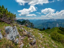 The Bavarian Wendelstein Mountain area with a great Mountain View